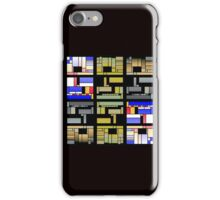 Rectangles of joy iPhone Case/Skin