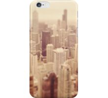 Tilt-Shift Chicago iPhone Case/Skin