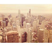 Tilt-Shift Chicago Photographic Print