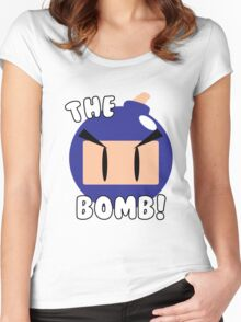 The Bomb! Women's Fitted Scoop T-Shirt