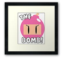 The Bomb! ~ Bomberwoman Framed Print