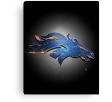 Denver Broncos MOS Canvas Print