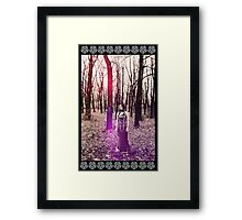 Witch-Woman Framed Print
