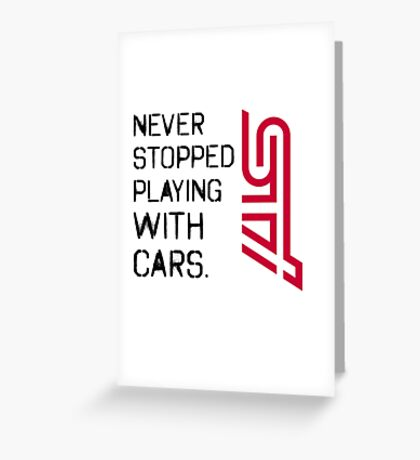 sti Greeting Card