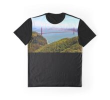 Golden Gate Bridge Marin Headlands Graphic T-Shirt
