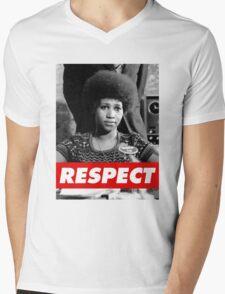 R.E.S.P.E.C.T. Mens V-Neck T-Shirt