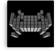 Cubic Invader Canvas Print