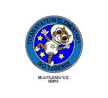 Titan Station Elementary Mascot Photographic Print