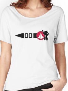 Macross Stripe Women's Relaxed Fit T-Shirt