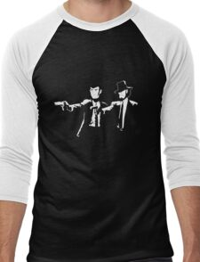 Lupin Jigen Pulp Fiction Lupin The Third Men's Baseball ¾ T-Shirt