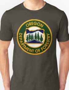 Oregon Department of Forestry T-Shirt