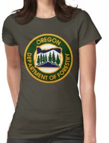 Oregon Department of Forestry Womens Fitted T-Shirt