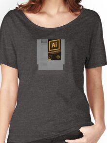NES Cartridge - Illustrator CS6 Women's Relaxed Fit T-Shirt