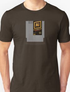 NES Cartridge - Illustrator CS6 Unisex T-Shirt