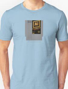 NES Cartridge - Illustrator CS6 T-Shirt