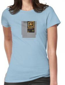 NES Cartridge - Illustrator CS6 Womens Fitted T-Shirt