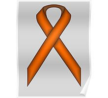 Orange Standard Ribbon Poster
