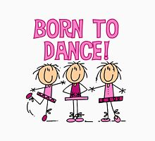 Stick Figure Ballerinas Born to Dance Classic T-Shirt