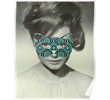 Rocio Durcal´s mask Poster