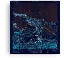 USGS TOPO Map Puerto Rico PR San Juan 362584 1947 30000 Inverted Canvas Print