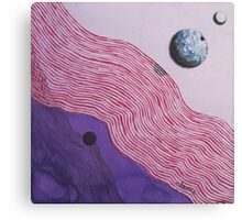 Space and Shadows Canvas Print