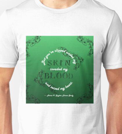 Poison Study- Seized My Heart  Unisex T-Shirt