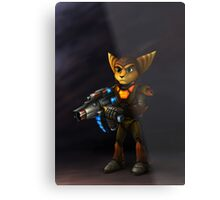 Ratchet Deadlocked Metal Print