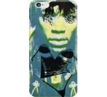 Woman haze all in my brain. iPhone Case/Skin