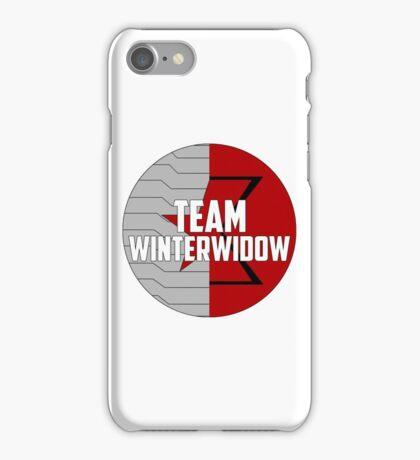 Team WinterWidow iPhone Case/Skin
