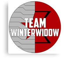 Team WinterWidow Canvas Print
