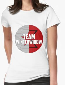 Team WinterWidow Womens Fitted T-Shirt