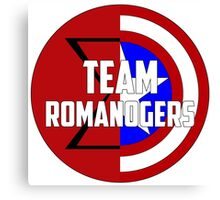 Team Romanogers Canvas Print
