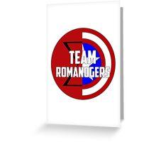 Team Romanogers Greeting Card