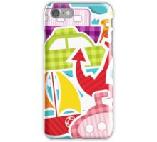 Water Transportation So Many Boats iPhone Case/Skin