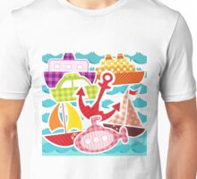 Water Transportation So Many Boats Unisex T-Shirt