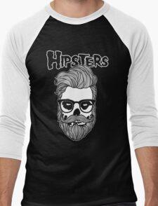 Hipsters Men's Baseball ¾ T-Shirt
