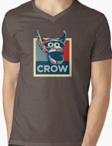 Vote Crow T. Robot Mens V-Neck T-Shirt