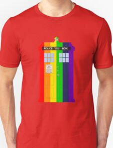 Rainbow Tardis T-Shirt