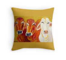 Outback Queens Throw Pillow