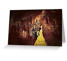 Golden Beauty Greeting Card