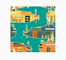 Seamless pattern with submarine Unisex T-Shirt