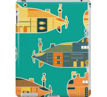 Seamless pattern with submarine iPad Case/Skin