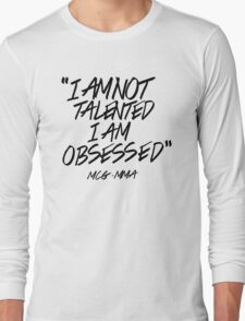 Conor McGregor - Obsessed Long Sleeve T-Shirt