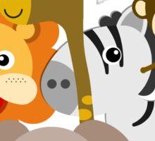 Love Our Animal Friends Zoo Animals Sticker