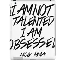 Conor McGregor - Obsessed iPad Case/Skin