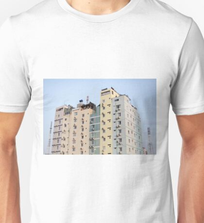 MORE BUILDING IN TOWN Unisex T-Shirt
