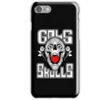 Gals love Skulls  iPhone Case/Skin