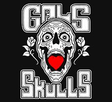 Gals love Skulls  Womens Fitted T-Shirt