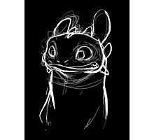 Toothlessketch Photographic Print