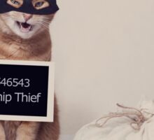 The Catnip Thief Sticker